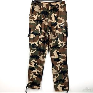 NWT Puma XTG Trail Cargo AOP Camouflage Pants